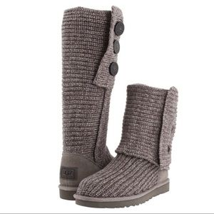 UGG Classic Cardy Grey Boots